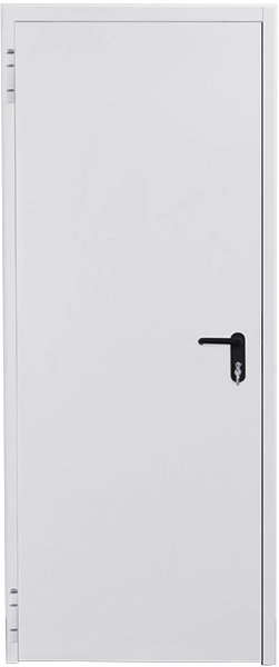 Galvanised steel doors